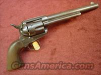COLT SAA - U.S. CAVALRY - MODEL 1873 - .45 COLT  Guns > Pistols > Colt Single Action Revolvers - 1st Gen.