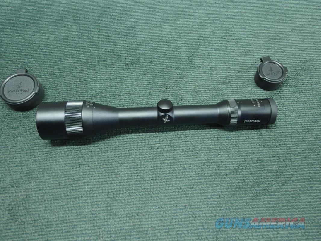 SWAROVSKI HABICHT 4-16X50MM - ADJ. OBJ. - 30MM TUBE - TDS-4 RETICLE - NEAR MINT  Non-Guns > Scopes/Mounts/Rings & Optics > Rifle Scopes > Variable Focal Length