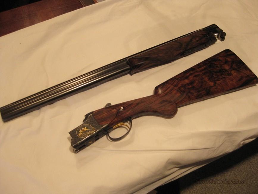 BROWNING SUPERPOSED 12GA. FACTORY MIDAS UPGRADE -  26-IN. IC/MOD - EXHIBITION GRADE WALNUT - NEAR MINT  Guns > Shotguns > Browning Shotguns > Over Unders > Belgian Manufacture