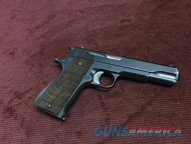 STAR MODEL B 9MM - MATCHING NUMBERS - WOOD GRIPS - EXCELLENT  Guns > Pistols > Star Pistols