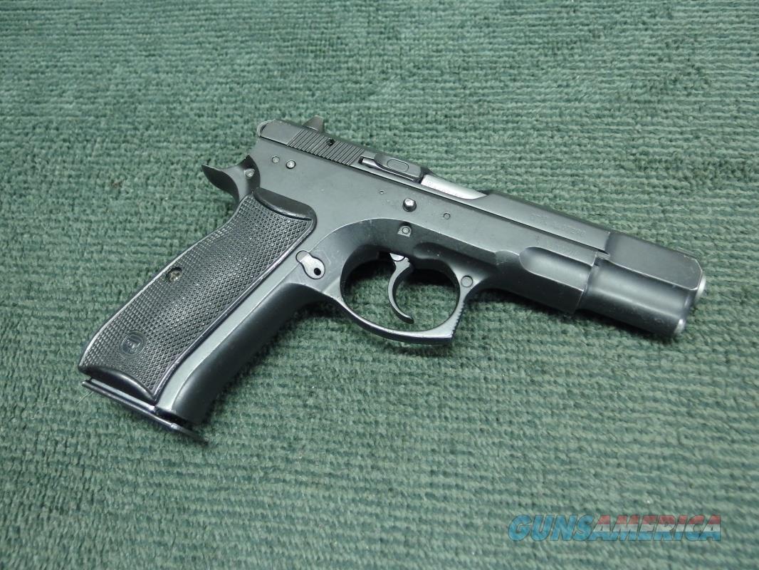 CZ 75B 9MM - MADE IN 2007 - VERY GOOD  Guns > Pistols > CZ Pistols
