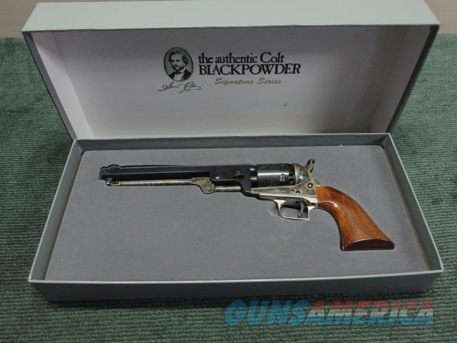 COLT SIGNATURE SERIES BLACKPOWDER 1851 NAVY .36 CAL. - UNFIRED IN BOX  Non-Guns > Black Powder Muzzleloading