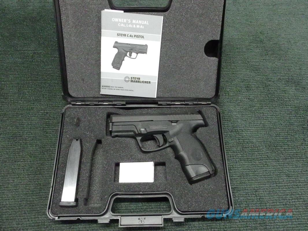 STEYR C40-A1 .40 CAL. - AS NEW IN BOX WITH TWO MAGS   Guns > Pistols > Steyr Pistols