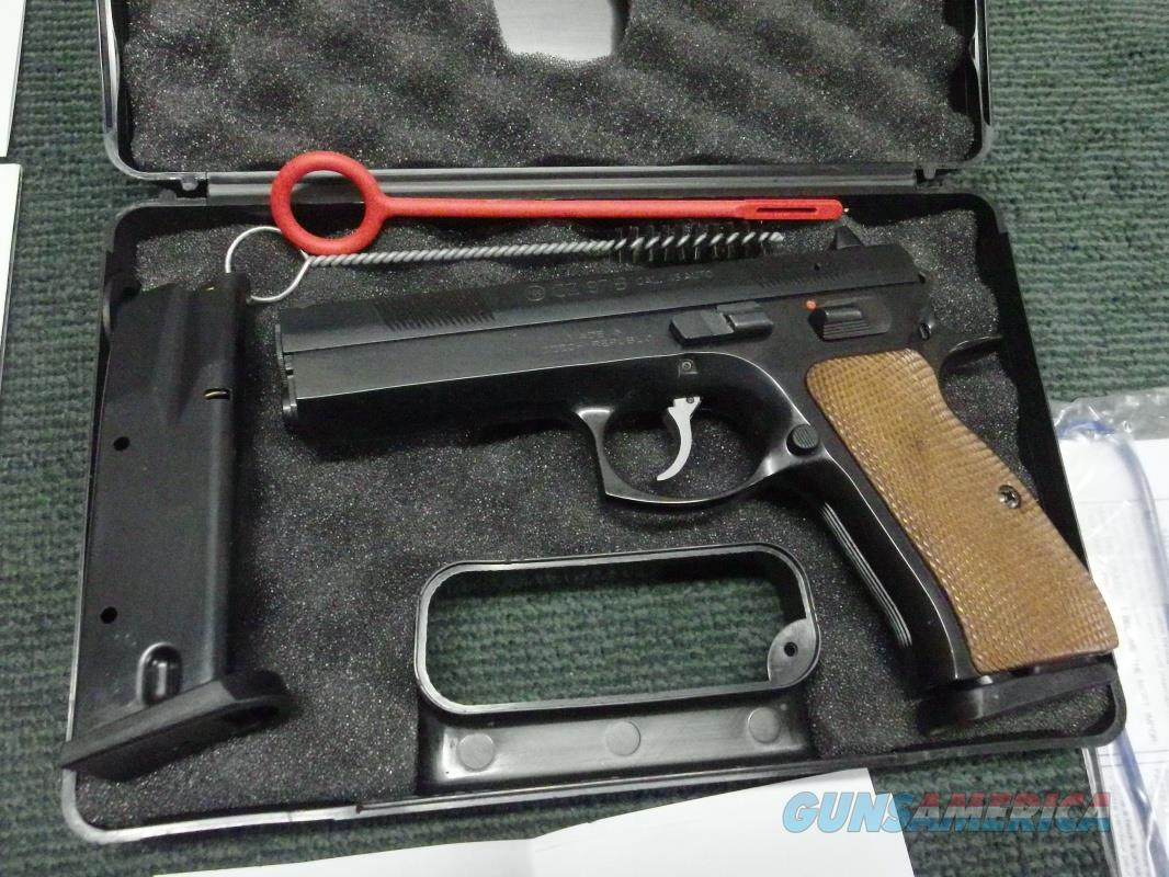 CZ 97B .45ACP - RARE GLOSSY BLUE FINISH ! - MADE IN 1999 - NEW IN BOX WITH FACTORY TEST TARGET - CZ - USA 97 B  Guns > Pistols > CZ Pistols