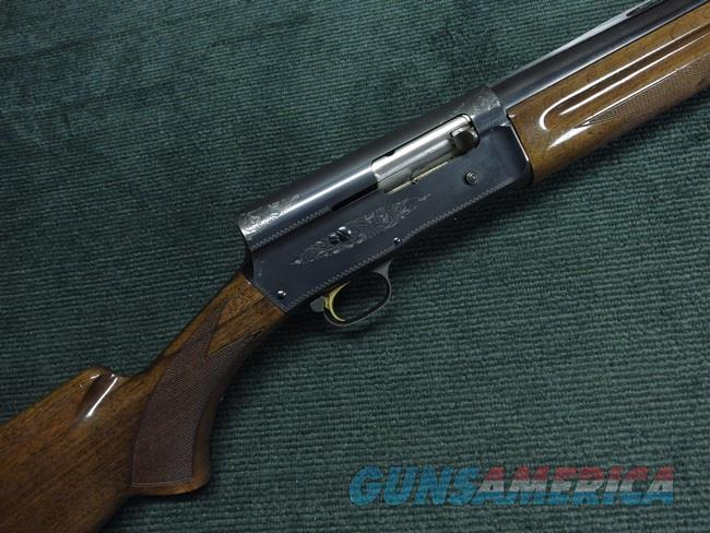 BROWNING BELGIAN AUTO-5 LIGHT TWELVE - 12GA. - 28-IN. MODIFIED - VENT RIB - 1972 - A-5  - EXCELLENT  Guns > Shotguns > Browning Shotguns > Autoloaders > Hunting
