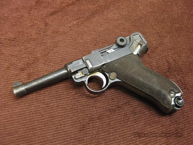 LUGER S/42  - 1936 - NICE ONE !  Guns > Pistols > Luger Pistols