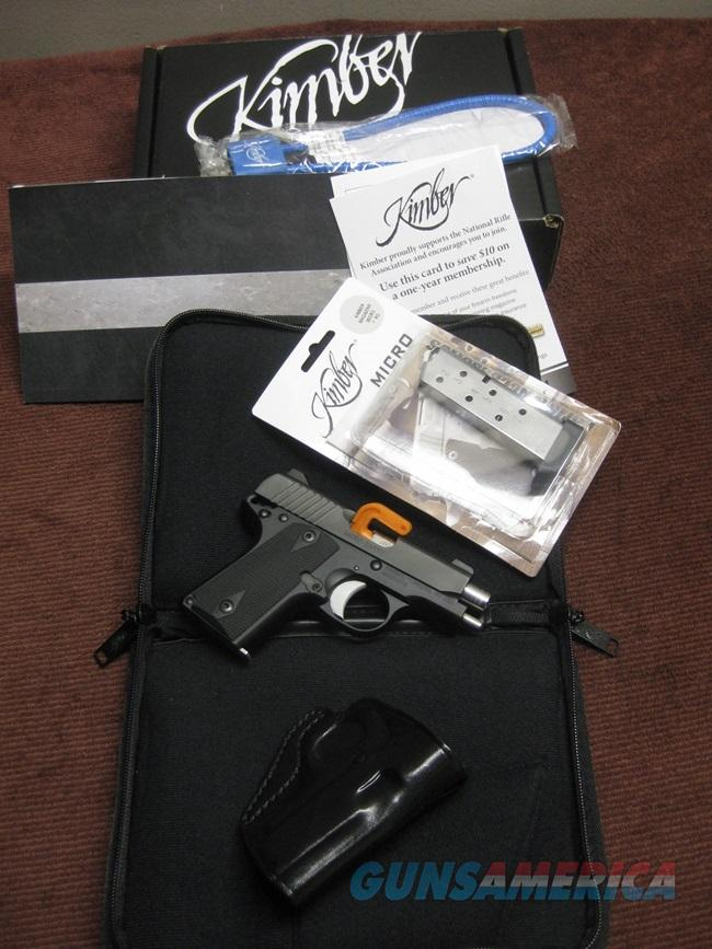 KIMBER MICRO CARRY .380 - WITH EXTRA EXTENDED MAG. & GALCO HOLSTER - IN BOX  Guns > Pistols > Kimber of America Pistols