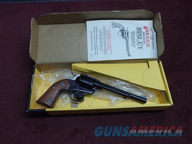 VINTAGE RUGER SINGLE-SIX BISLEY - .32 H&R MAGNUM - 6 1/2-INCH - MADE IN 1986 - NEW IN BOX  Guns > Pistols > Ruger Single Action Revolvers > Single Six Type