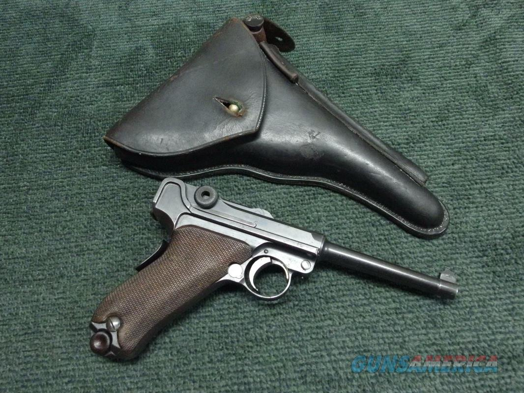 GERMAN LUGER  DWM  7.65MM MODEL 1906 M2 PORTUGUESE ARMY CONTRACT - WITH HOLSTER & TOOLS  Guns > Pistols > Luger Pistols