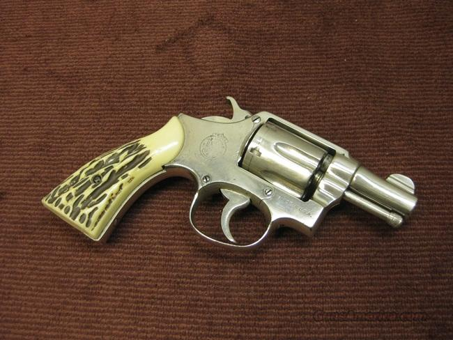 SMITH & WESSON VICTORY M&P .38SPL 2 1/4-INCH NICKEL  Guns > Pistols > Smith & Wesson Revolvers > Full Frame Revolver