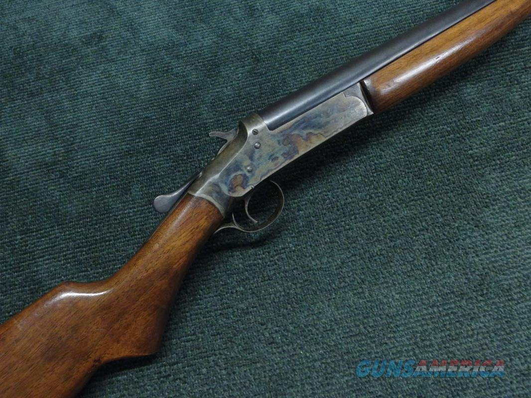 IVER JOHNSON CHAMPION 12GA. - RARE WITH 32-INCH FULL CHOKE BARREL - EXCELLENT WITH BRIGHT CASE COLORS  Guns > Shotguns > Iver Johnson Shotguns