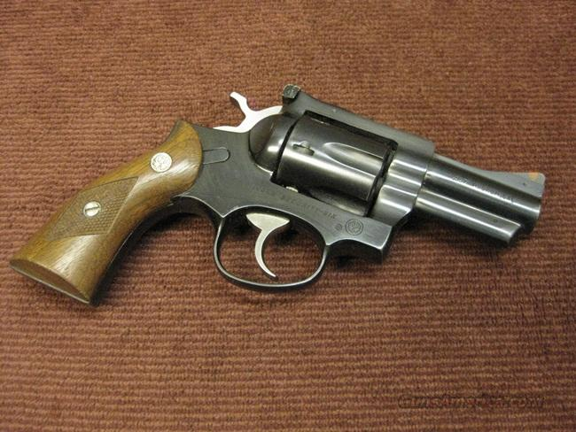 RUGER SECURITY-SIX .357 MAGNUM - 2 3/4-INCH - MADE 1982 - EXCELLENT  Guns > Pistols > Ruger Double Action Revolver > Security Six Type
