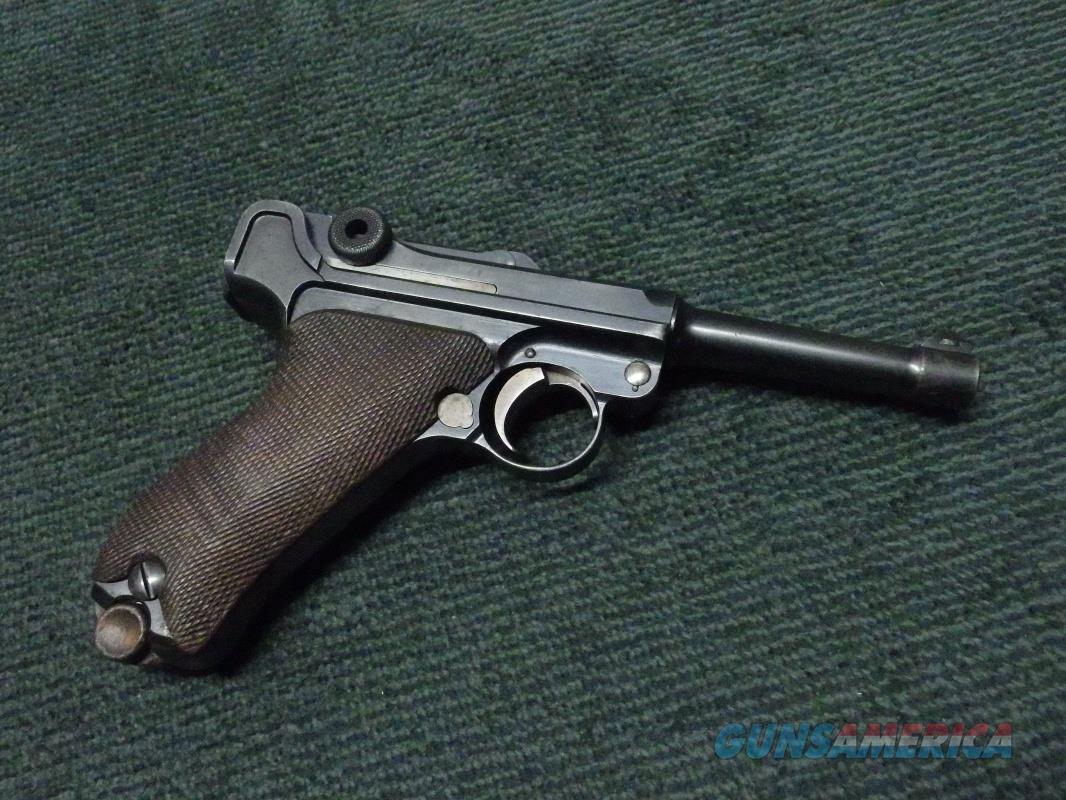 GERMAN DWM LUGER 9MM - MATCHING NUMBER  Guns > Pistols > Luger Pistols