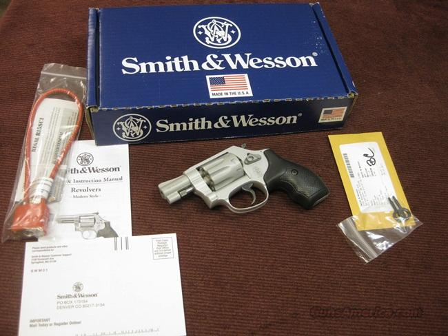 SMITH & WESSON 317 AIRWEIGHT .22LR - 8-SHOT - 1 7/8-INCH - NEW IN BOX  Guns > Pistols > Smith & Wesson Revolvers > Pocket Pistols