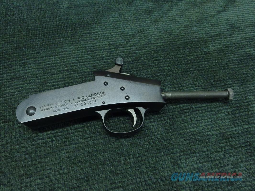 NEF - H&R - HANDI RIFLE - TOPPER - PARDNER - SB2 RECEIVER   Guns > Rifles > New England Firearms (NEF) Rifles