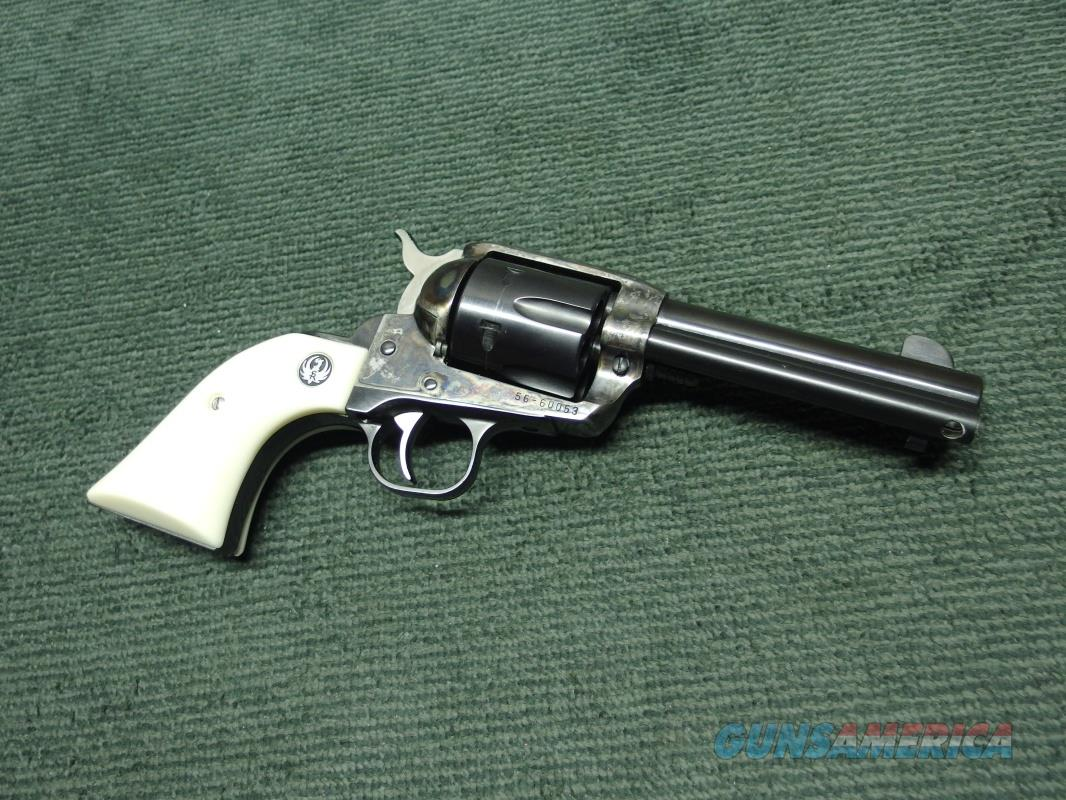 RUGER OLD VAQUERO .45 COLT - 4 5/8-INCH - BLUE & CASE COLORED - MADE IN 1997 - EXCELLENT  Guns > Pistols > Ruger Single Action Revolvers > Cowboy Action
