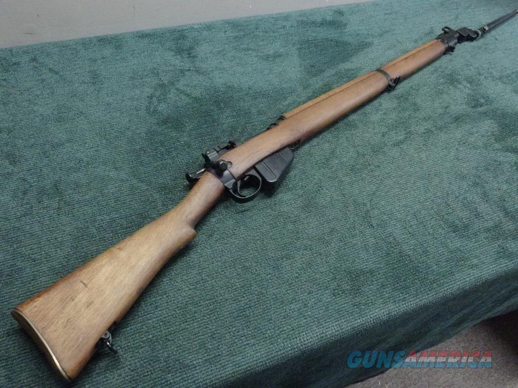 SAVAGE ENFIELD .303 - NO. 4 MKI* - U.S. PROPERTY MARKED - WITH BAYONET - EXCELLENT  Guns > Rifles > Military Misc. Rifles Non-US > Other
