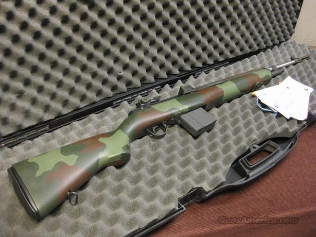 SPRINGFIELD M1A SUPER MATCH .308 - CAMO MCMILLIAN STOCK - DOUGLASS STAINLESS BARREL - NIB !  Guns > Rifles > Springfield Armory Rifles > M1A/M14