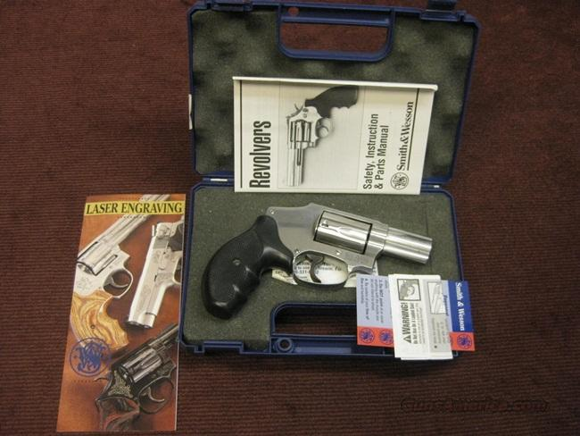 SMITH & WESSON 640 .357 MAGNUM - PRE-LOCK - WITH BOX  Guns > Pistols > Smith & Wesson Revolvers > Pocket Pistols