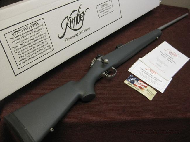 KMBER 84L MONTANA .270 STAINLESS - SYNTHETIC   Guns > Rifles > Kimber of America Rifles