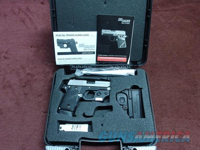 SIG SAUER P238 .380 - 2-TONE- WITH LASER - AS NEW IN BOX  Guns > Pistols > Sig - Sauer/Sigarms Pistols > P238