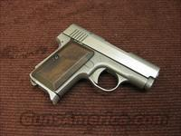 AMT BACKUP .380ACP - STAINLESS - EARLY TWO DIGIT SERIAL NUMBER  Guns > Pistols > AMT Pistols > Other