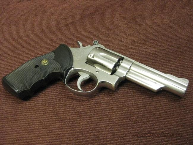 SMITH & WESSON MODEL 66 (NO DASH) .357 MAGNUM - 4-INCH - EARLY POLICE GUN - C.P.D. STAMPED - MECHANICALLY EXCELLENT  Guns > Pistols > Smith & Wesson Revolvers > Full Frame Revolver