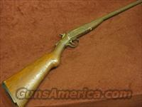 HOPKINS & ALLEN 12GA. SINGLE SHOT  Guns > Shotguns > H Misc Shotguns