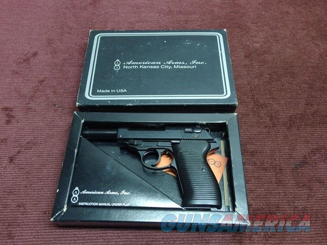 AMERICAN ARMS CO. - P98 - .22LR - NEW IN BOX  Guns > Pistols > American Arms Pistols