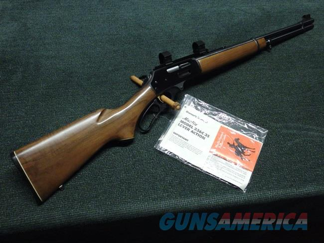 MARLIN 336 .35 REM - MADE IN 1979 - PRE-SAFETY - JM MARLIN - PRISTINE - MINT !  Guns > Rifles > Marlin Rifles > Modern > Lever Action