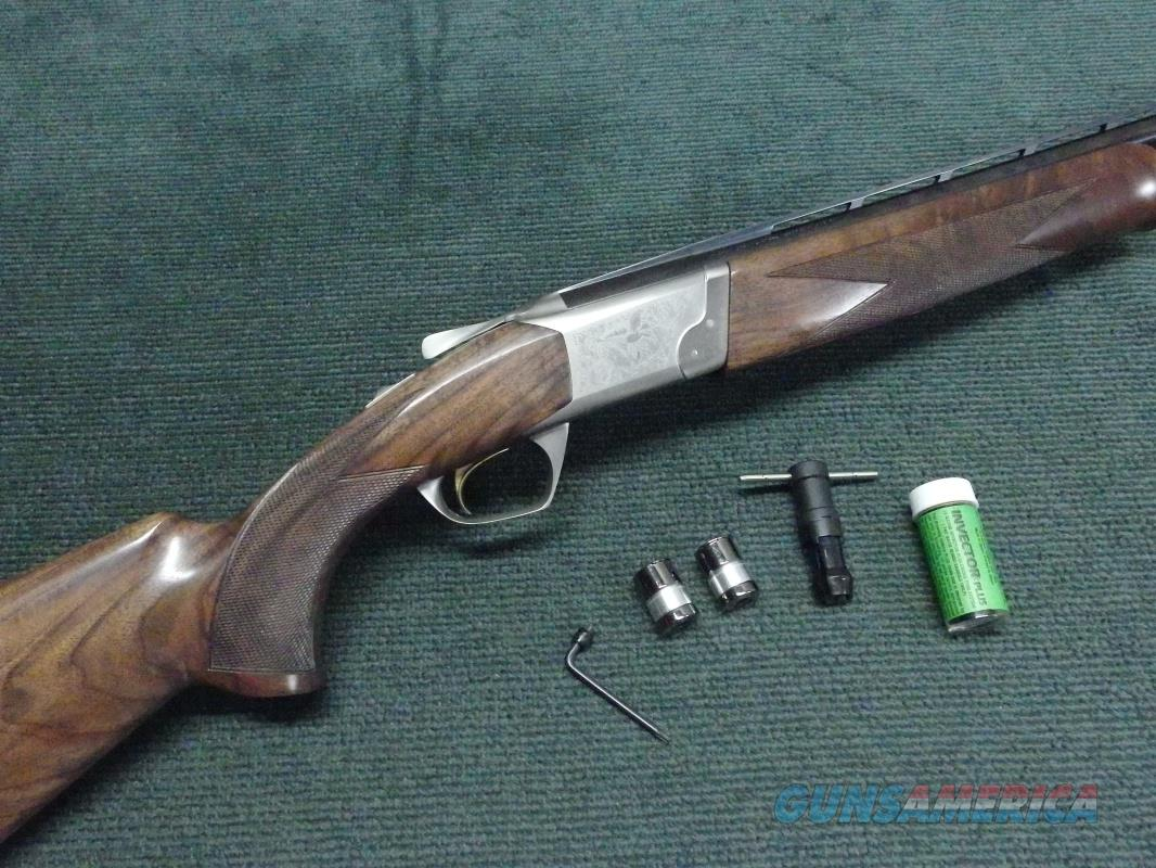 BROWNING CYNERGY CLASSIC 12GA. 28-INCH - INVECTOR-PLUS - FANCY WALNUT - MINT  Guns > Shotguns > Browning Shotguns > Over Unders > Cynergy > Hunting