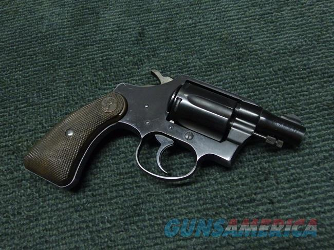 COLT COBRA - FIRST ISSUE - .38 SPL. - MADE IN 1952 - ORIGINAL  Guns > Pistols > Colt Double Action Revolvers- Modern