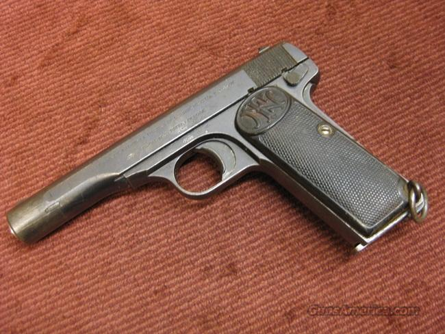 FN 1922 .380 - WITH NAZI PROOFS  Guns > Pistols > FNH - Fabrique Nationale (FN) Pistols > Pre-War