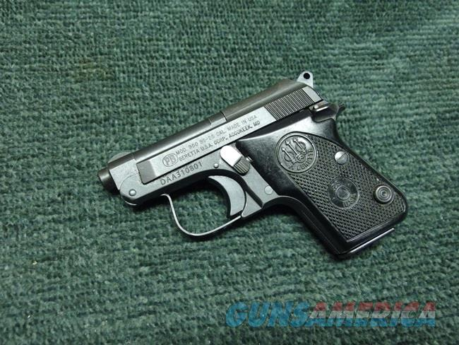 BERETTA 950BS .25ACP - MATTE FINISH  Guns > Pistols > Beretta Pistols > Small Caliber Tip Out