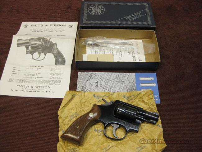 SMITH & WESSON 12-3 AIRWEIGHT .38SPL, 2-INCH - AS NEW IN BOX   Guns > Pistols > Smith & Wesson Revolvers > Full Frame Revolver