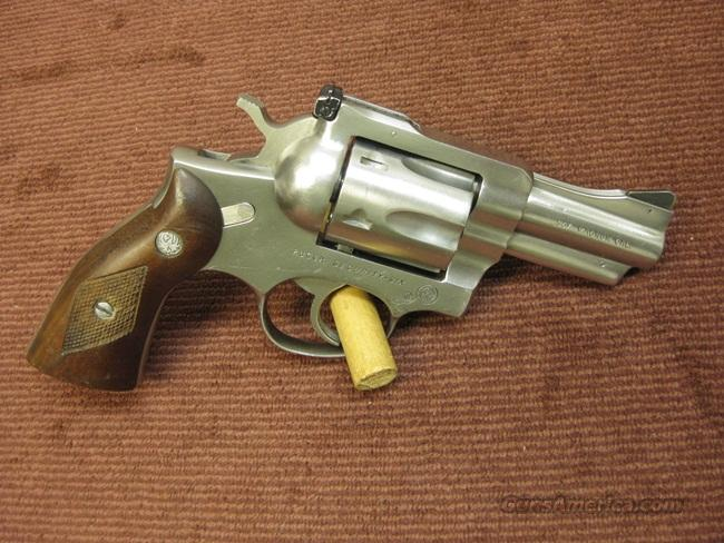 RUGER SECURITY-SIX .357 MAGNUM - 2 3/4-INCH - STAINLESS - MADE 1976 - EXCELLENT  Guns > Pistols > Ruger Double Action Revolver > Security Six Type