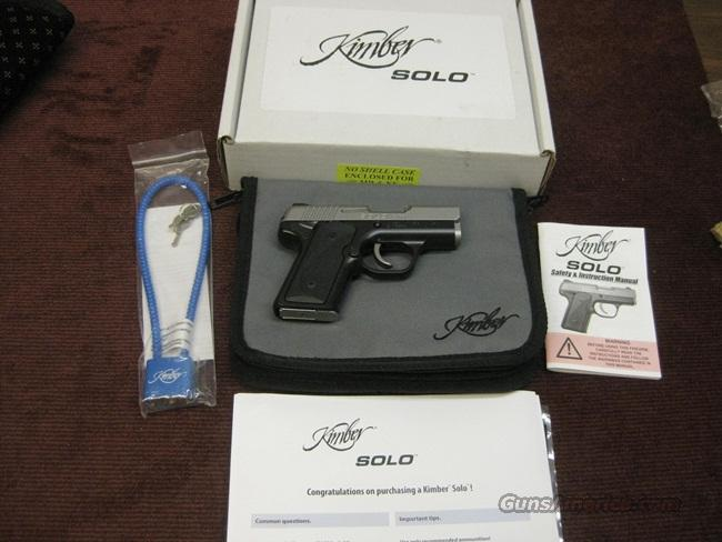 KIMBER SOLO CARRY 9MM - AS NEW IN BOX  Guns > Pistols > Kimber of America Pistols
