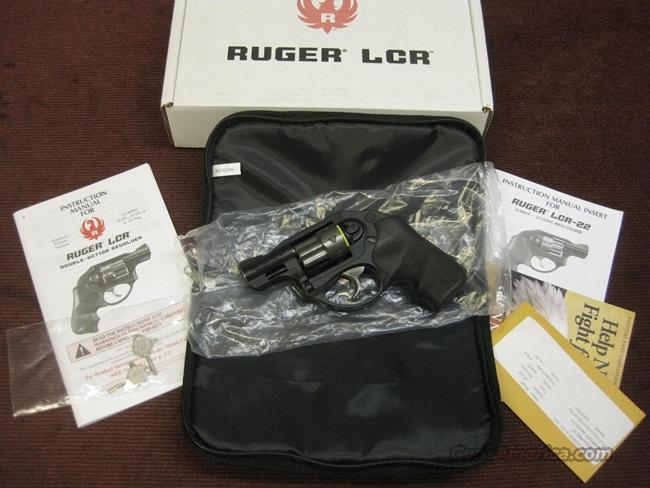 RUGER LCR-22 .22LR W/BOX & PAPERS  Guns > Pistols > Ruger Double Action Revolver > LCR