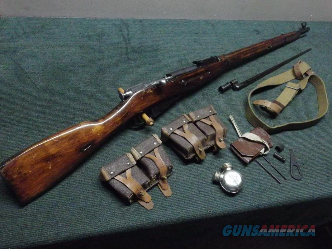 RUSSIAN MOSIN NAGANT 91 / 30 7.62X54R - 1941 - MATCHING NUMBERS - WITH ACCESSORIES - EXCELLENT  Guns > Rifles > Mosin-Nagant Rifles/Carbines