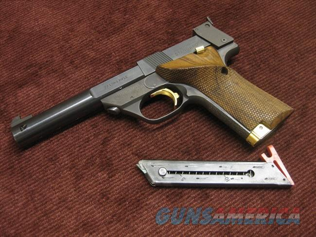 HIGH STANDARD SUPERMATIC TROPHY .22LR - 5 1/2-INCH - HOUSTON, TX  Guns > Pistols > High Standard Pistols