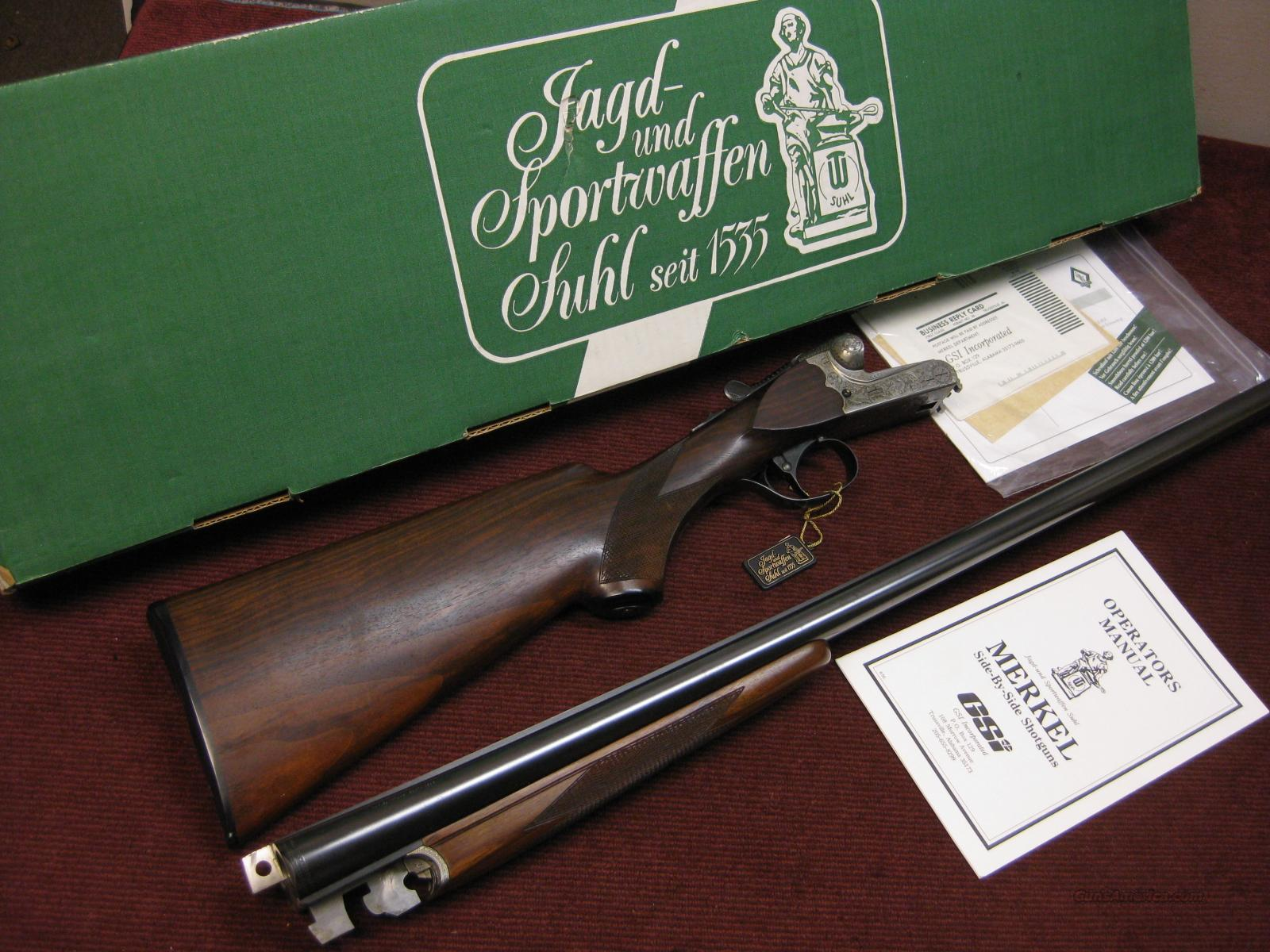 MERKEL 147E 12GA. 28-INCH IMP.CYL./ MOD. - AS NEW IN BOX !  Guns > Shotguns > Merkel Shotguns