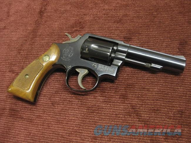 SMITH & WESSON 10-6 .38 SPL. 4-INCH - PINNED BARREL  Guns > Pistols > Smith & Wesson Revolvers > Model 10