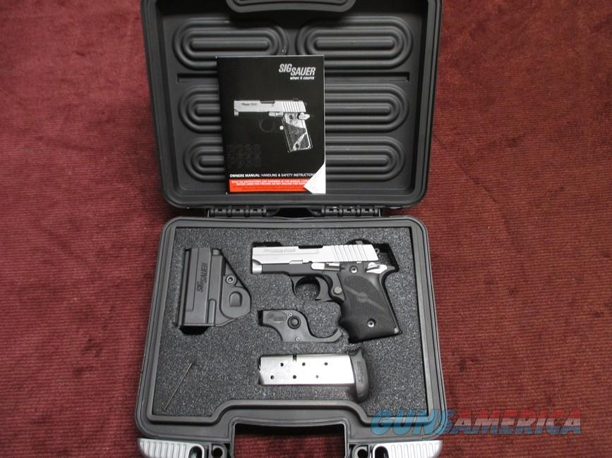 SIG SAUER P238 .380 - LASER - NIGHT SIGHTS - AS NEW IN BOX  Guns > Pistols > Sig - Sauer/Sigarms Pistols > P238