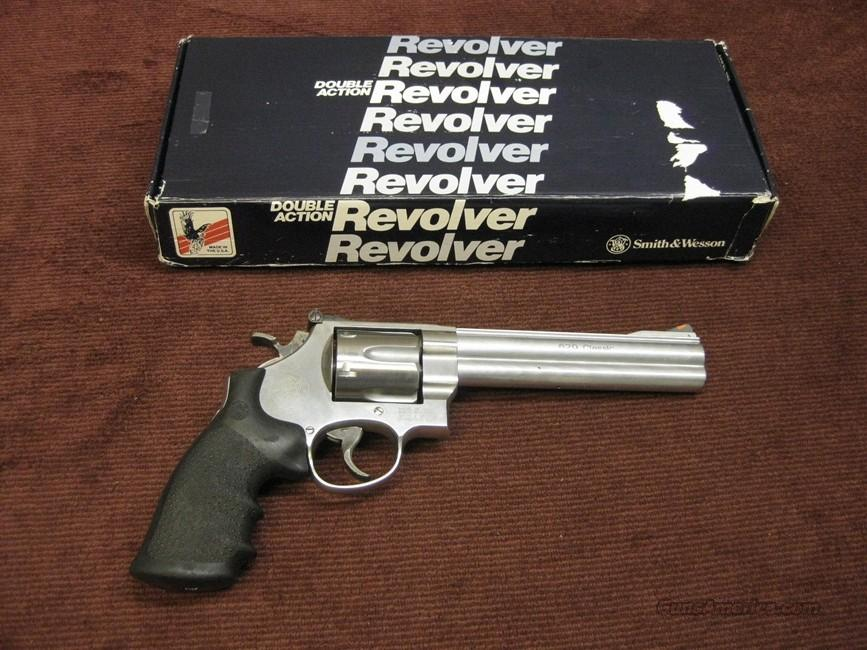 SMITH & WESSON 629-4 CLASSIC .44 MAG. 6 1/2-INCH WITH BOX  Guns > Pistols > Smith & Wesson Revolvers > Model 629