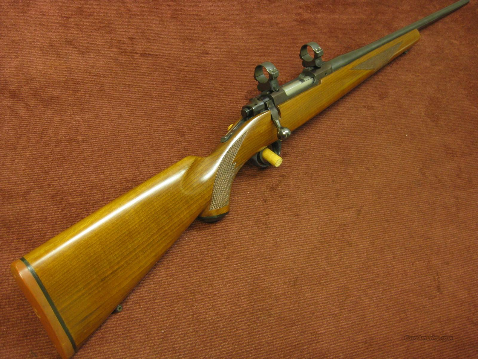 RUGER M-77 .350 REM.MAG. TANG SAFETY - PRE-WARNING - MADE 1972  Guns > Rifles > Ruger Rifles > Model 77