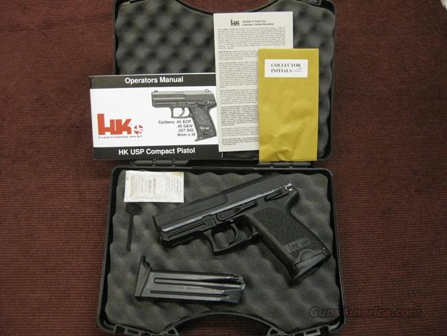H&K USP COMPACT 9MM - EXC. WITH BOX & TWO MAGS  Guns > Pistols > Heckler & Koch Pistols > Polymer Frame