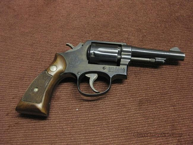 SMITH & WESSON 10-5 .38SPL. 4-INCH - PINNED BARREL - C-PREFIX - EXCELLENT  Guns > Pistols > Smith & Wesson Revolvers > Model 10