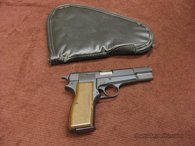 BROWNING HI-POWER 9MM - BELGIAN - MADE IN 1980   Guns > Pistols > Browning Pistols > Hi Power