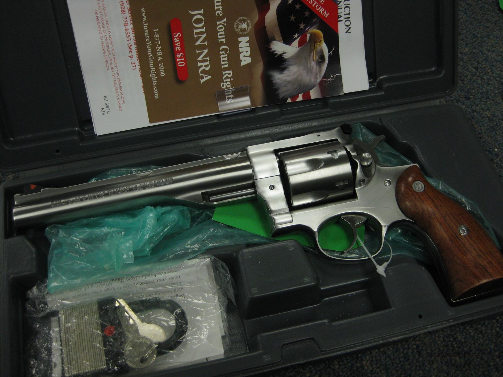 "RUGER REDHAWK .44MAG. 7 1/2"" AS NEW IN BOX !  Guns > Pistols > Ruger Double Action Revolver > Redhawk Type"