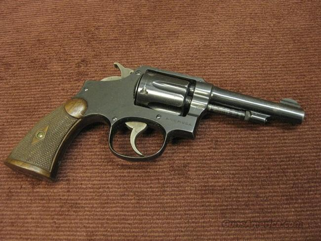 SMITH & WESSON 32-20 HAND EJECTOR - 4-INCH - NICE ONE !  Guns > Pistols > Smith & Wesson Revolvers > Pre-1945